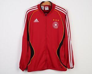 ADIDAS Germany 2000's Football Tracksuit Men L Top Jacket Jumper Sweatshirt Vtg