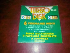 Libretto TURBO DISK 64 n.10 x Commodore 64 numero 10 originale c64