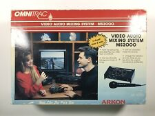 Omnitrac MS2000 Video-Audio Mixing System Arkon 5 Channel Mixer New In Box