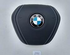 BMW 5 G30 6 G32 GT 7 G11 X7 OEM NIGHT BLUE LEATHER STEERING WHEEL AIRBAG SRS USA
