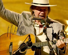 REPRINT - NEIL YOUNG 4 autographed signed photo