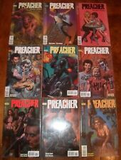 PREACHER 25 26 27 28 29 30 31 32 33 Vertigo DC Set Run Lot Garth Ennis AMC 1995
