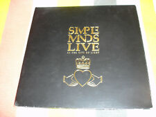 Simple Minds Live In The City Of Light.Original Double Vinyl LP Album1987 Virgin
