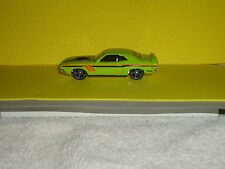 2016 HOT WHEELS THEN & NOW #104 '71 Dodge Challenger - KMart Days - Lime Green