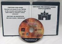 Return Castle Wolfenstein Operation Resurrection PlayStation 2 PS2 TESTED DISC