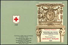 France 1969 XSB19 Red Cross Stamp Booklet MNH #C40697