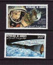 Djibouti MNH 1986 Space set mint stamps