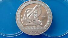 MONEDA DE PLATA PURA. MEXICO GUERRERO AGUILA 1 ONZA .999 . 1992. Envío gratuito