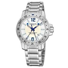 Raymond Weil Men's Nabucco Stainless Steel GMT Automatic Watch 3800.ST05657