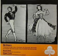 Britten(Vinyl LP)Variations On A Theme Of Frank Bridge, Op. 10-U
