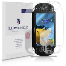 iLLumiShield Screen + Back Protector 3x for Sony Playstation PS Vita WiFi
