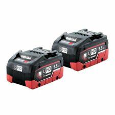 Metabo 18v LiHD Battery Twin Pack 5.5ah AU32102550