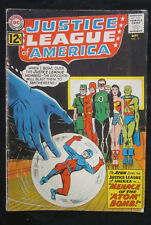 JUSTICE LEAGUE of AMERICA #14 1962 DC Comics GD 2.0 ATOM Joins SILVER AGE JLA