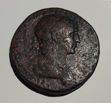 Trajan 98-117 AD AE Sestertius SCARCE!
