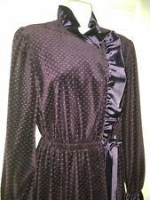 New listing R. Michael Alan Vintage Womens Purple Velvet Robe Size Medium Stunning!