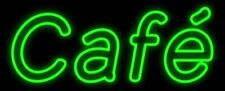 "New Cafe Beer Man Cave Neon Light Sign 32""x16"" Coffee Open Bar Artwork"