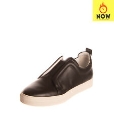 RRP €470 PIERRE HARDY Leather Sneakers EU 41 UK 7 US 8 Two Tone Made in Italy