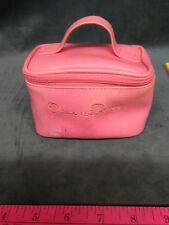OSCAR DE LA RENTA PARFUMS/PARIS PINK MAKE-UP PERFUME BAG SATCHEL