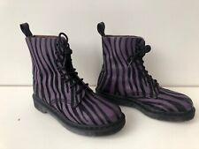 Women's Dr Martens Pascal Boots Rare, Purple/Black Uk5 EU38 zebra print