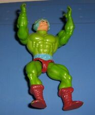 Vintage He - Man Action Figure Green Body Brown Boots