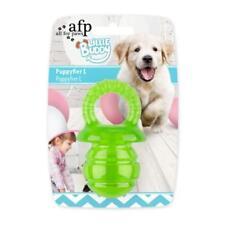 Juguete Perro Cachorro Mascota Juego de goma suave para la dentición tren saludable de goma Chew Anillo 4615