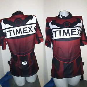 SUGOI TIMEX Womans Bicycle Jersey  Sz M 40 x 34