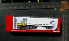 HERPA #6020 WHITE KENWORTH TRACTOR COTTRELL TRANSPORT-ANYTIME.ON TIME W/TRAILER
