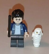 Lego HARRY POTTER Minifigure from The Burrow 4840 With Magic Wand & HEDWIG Owl