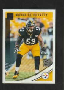 2018 Donruss #243 Maurkice Pouncey card, Pittsburgh Steelers legend
