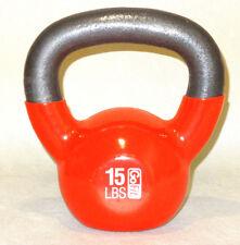 GoFit Kettlebell Kugelhantel Premium 6,80kg Hantel Kugelgewicht mit Training DVD