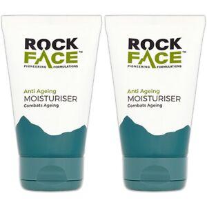 2 x Mens Anti Ageing Moisturiser LONG LASTING Skin Cream Skincare 100ml UK MADE