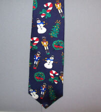 Save the Children CHRISTMAS CHEER by Brooke Age 10 Holiday Silk Neck Tie #744