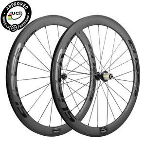 Light Weight Carbon Wheels 50mm Clincher Bicycle Carbon Wheelset Superteam Bike