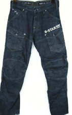 Gstar Storm 5620 Loose Line Embro Dark Wash Jeans Mens UK Size 31W 34L *REF56-G