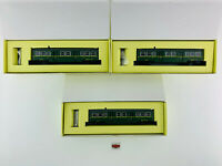 KTRAIN H0 06-02 A/B/C - LOTE 3 COCHES VIAJEROS RENFE 7000 2ª/3ª CL. - NUEVO!