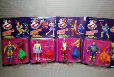 Kenner The Real Ghostbusters SCREAMING HEROES Lot Egon Ray Stanz Peter Janine