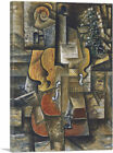 ARTCANVAS Violin and Grapes 1912 Canvas Art Print by Pablo Picasso