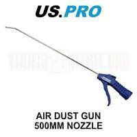 US PRO Tools Air Dust Gun 500mm Nozzle Plastic Grip Handle 8781