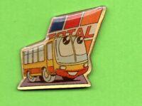 Pin's lapel pin pins Carburant  TOTAL BUS AUTOBUS AUTOCAR