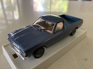 Trax. 1/43 Scale. TR22. 1977 HZ Holden Sandman Utility. Deauille Blue.