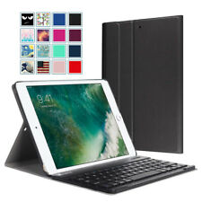 """For iPad 6th Generation 9.7"""" 2018 Case Cover Stand Wireless Bluetooth Keyboard"""