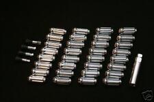 Chrome Spline Lug Nut lock Kit 8 lug DODGE RAM 2500 3500 Trucks 1997-2011 9/16