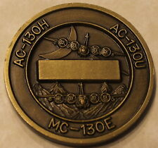 19th Special Operations Squadron AC130H AC-130U MC-130E Air Force Challenge Coin