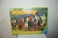 JEU PLATEAU RAVENSBURGER JOCKEY GAME BOARD  COMPLET VINTAGE 1977