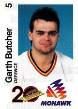 1989-90 Vancouver Canucks Mohawk #5 Garth Butcher