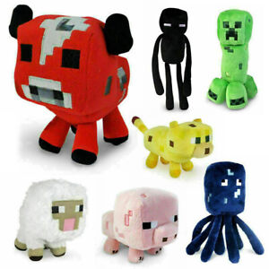 Minecraft Plush Toy Kids Gift Children Stuffed Animal Soft Plushies Game TOY