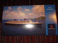 SS Norway unused postcard