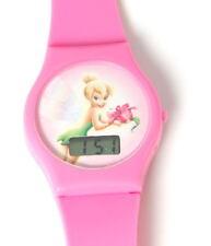 Disney Tinkerbell Digital Pink Strap Girls Watch