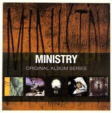 Ministry ORIGINAL ALBUM SERIES Land Of Rape & Honey PSALM 69 New Sealed 5 CD