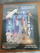 NASA 3D LED Picture Frame Saturn V Rocket Kennedy Space Centre  MIRACLE BEAM USA